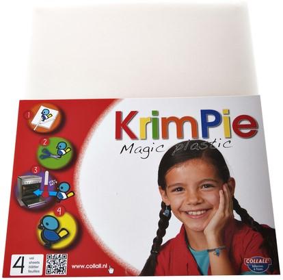 KRIMPIEVEL COLLALL MAGIC PLASTIC TRANSPARANT SET À 4 VEL