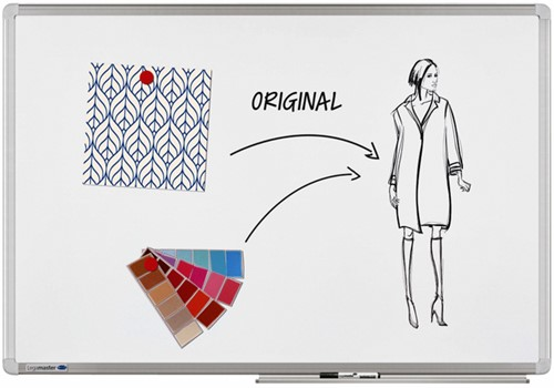 WHITEBOARD LEGAMASTER UNIVERSAL PLUS 90X120CM EMAILLE
