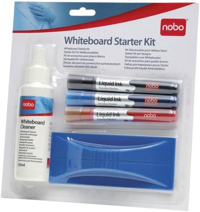 WHITEBOARD STARTERKIT NOBO