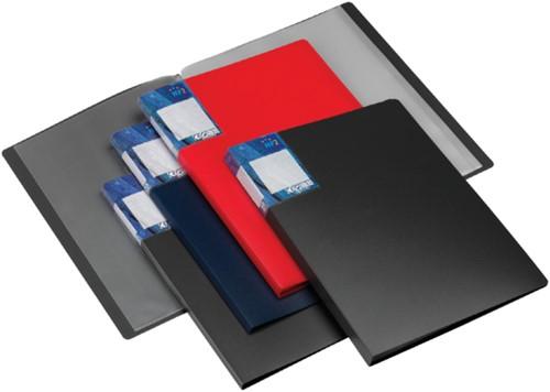 SHOWMAP HF2 DELUXE A4 10-TASSEN DONKERBLAUW