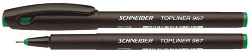 FINELINER SCHNEIDER 967 GROEN 0.4MM