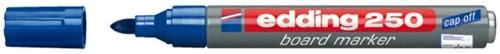 VILTSTIFT EDDING 250 WHITEBOARD ROND BLAUW 1.5-3MM