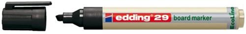 VILTSTIFT EDDING 29 WHITEBOARD ECO SCHUIN ZWART 1-5MM