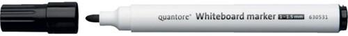 WHITEBOARDSTIFT QUANTORE ROND 1-1.5MM ZWART