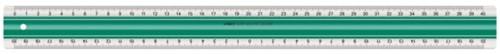 LINIAAL LINEX SUPER S40 400MM TRANSPARANT