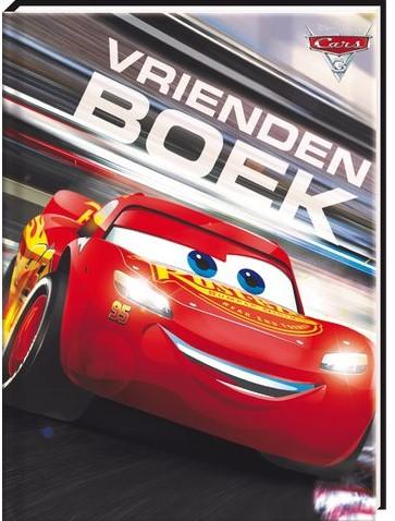 VRIENDENBOEK DISNEY CARS 3