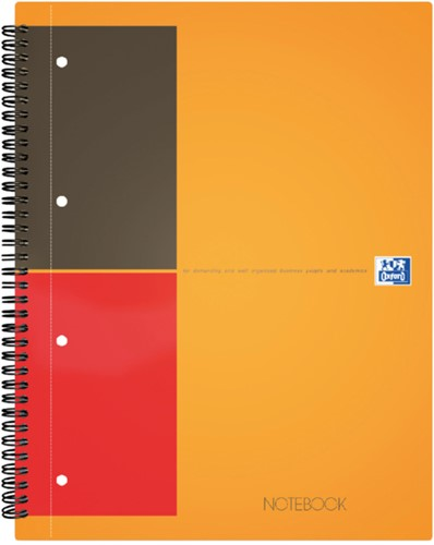 SPIRAALBLOK OXFORD INTERNATIONAL NOTEBOOK A5+ GELINIEERD